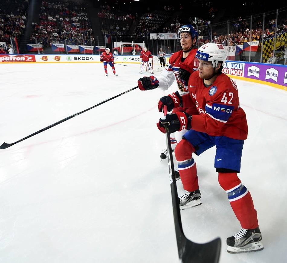 367ca758881d5 MS - Francie: Česko - Norsko, 11.5.2017 | Český hokej