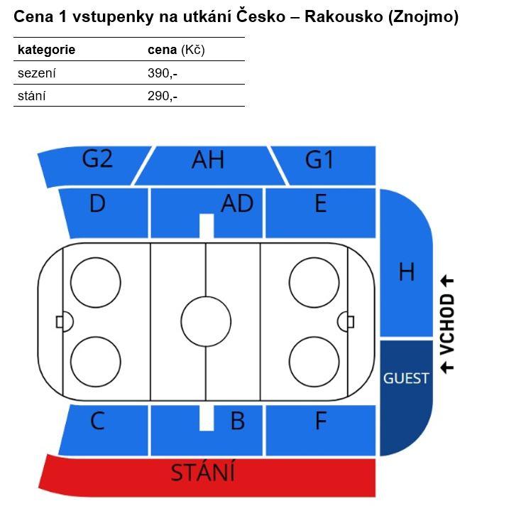 dcfa6f0a83e74 Děti do výšky 140 cm zdarma (na klín rodičů/rodiny); Fanoušci mohou na  utkání zakoupit maximálně 6 vstupenek; Předprodej pro členy hokejka.cz od čtvrtka  21.