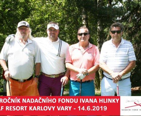 ffdb81283e0c7 Golfový turnaj Nadačního fondu Ivana Hlinky 2019