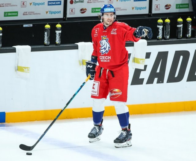 Second practice of Czech Ice Hockey Team i Helsinky, Karjala Cup 2020