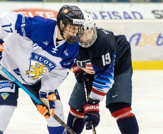 U18 - Chomutov: USA vs Finsko, 9.2.2020