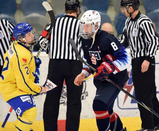 U18 - Chomutov: USA vs SWE, 8.2.2020