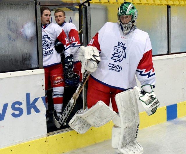 U18 - Hlinka Gretzky Cup 2019: Practice of Czech Ice Hockey Team