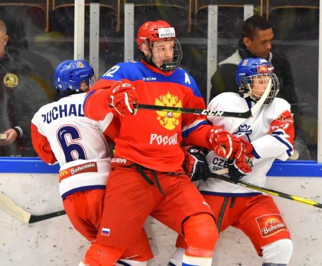 U16 - Sweden: RUS vs CZE, 8.2.2020