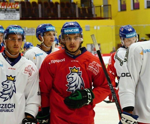 Preparation camp of Czech Ice Hockey Team in Jihlava