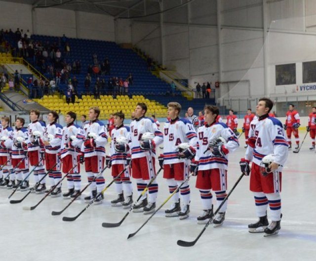 U18 - Břeclav: CZE - USA 3:1, 3.8.2019