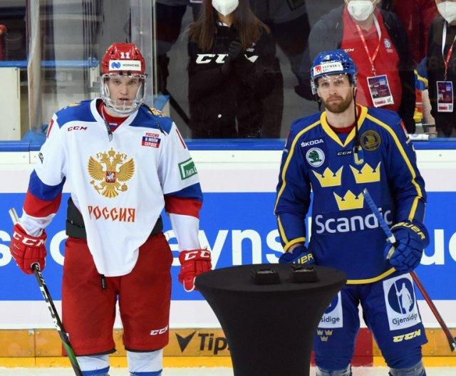 Czech Hockey Games: RUS vs SWE, 12.5.2021