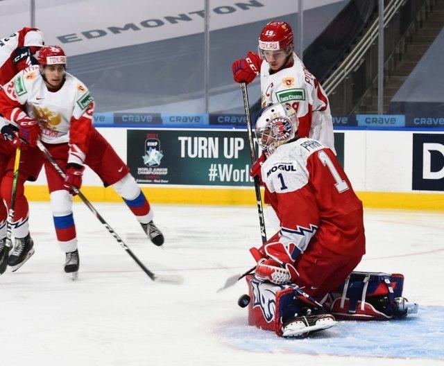 WJC 2021 - Edmonton: CZE vs RUS, 27.12.2020