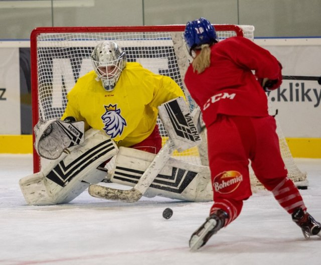 Preparation camp of Women Czech Ice Hockey Team, 12.4.2021