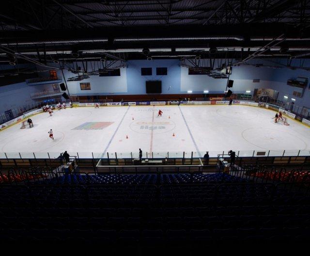 First practice of U20 Czech Ice Hockey Team in Litoměřice, November 2020