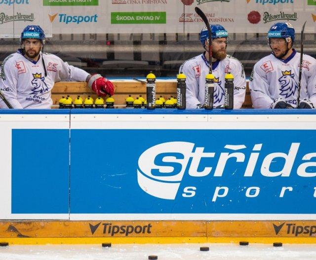 Practice of the Czech Ice Hockey Team in Prague, 14. 5. 2021