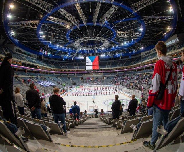 A-team - Prague: CZE vs RUS, 15.5.2021
