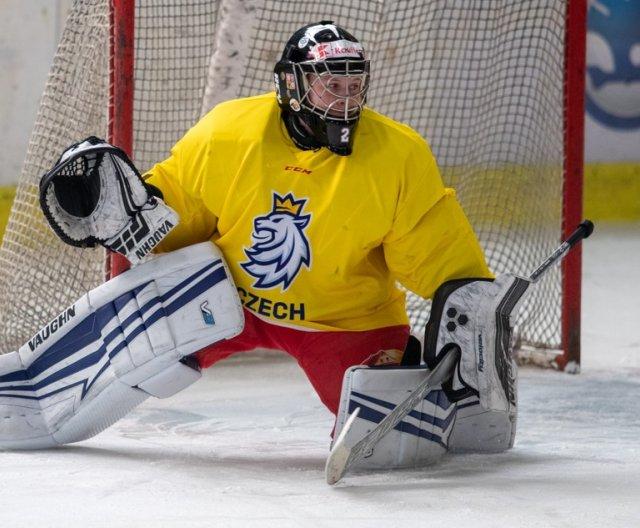 First practice of Czech Woman's Ice Hockey Team in Klášterec nad Ohří