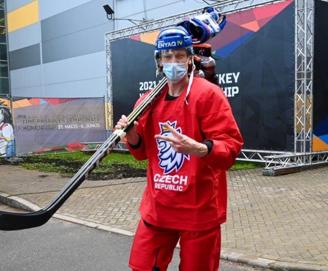 Second practice of Czech Ice Hockey Team in Riga, 19.5.2021