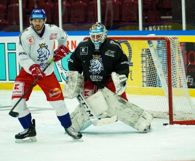 First practice of Czech Ice Hockey Team in Malmö